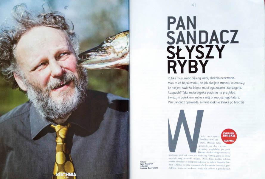 Pan Sandacz Kuchnia