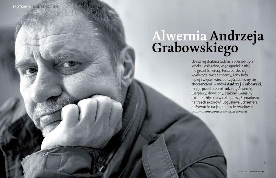 Zwierciadło Andrzej Grabowski
